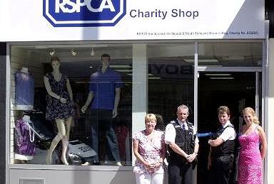 Chester le Street charity shop